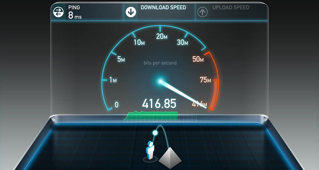 كيفية قياس سرعة الانترنت