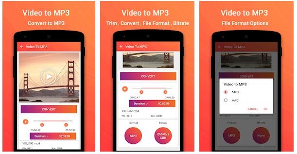 كيفية تحويل الفيديوهات الي MP3