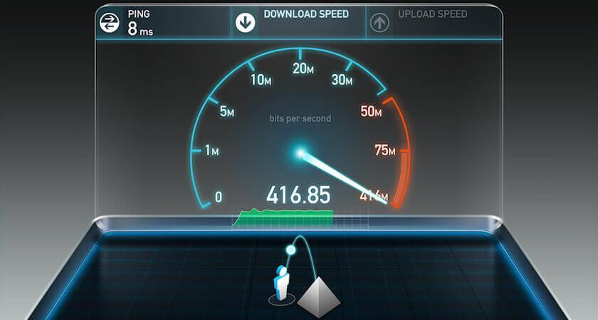 حل مشاكل بطئ الانترنت
