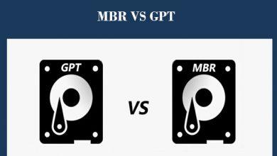 Photo of الفرق بين تقنية MBR و GPT لتقسيم الهارد