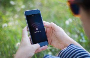 حل مشكلة الإنترنت على أيفون