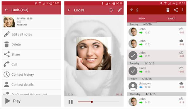 تطبيقات تسجيل المكالمات على الأندرويد