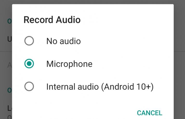 تطبيق ADV Screen Recorder يضيف خاصية التقاط الصوت الداخلي داخل أندرويد 10