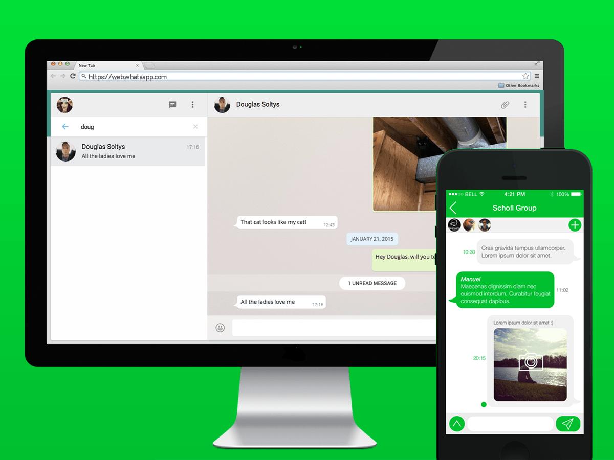واتساب ويب للكمبيوتر Whatsapp Web - واتس ويب للكمبيوتر