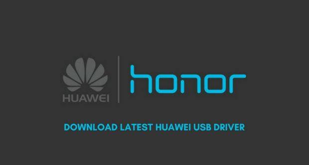 طريقة تحميل تعريف USB لأجهزة هواوي و هونور Huawei/Honor