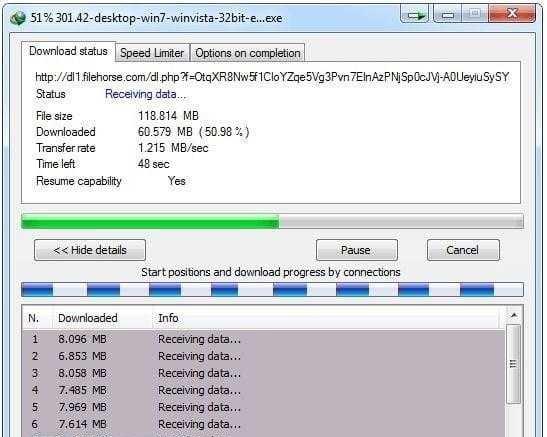 افضل 10 برامج تحميل الملفات من الانترنت 2021