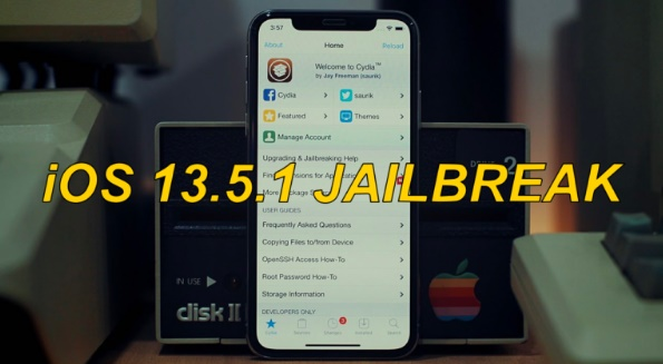 كيفية عمل جيلبريك IOS 13.5 و IOS 13.5.1 علي الايفون والايباد