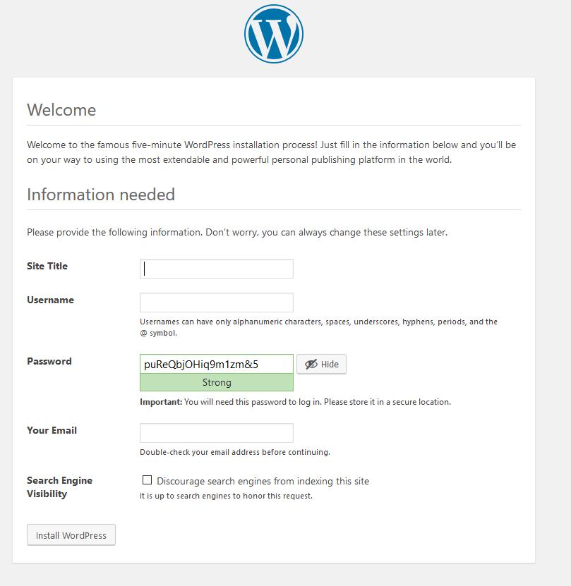 كيفية عمل موقع ووردبريس مجاني علي جوجل كلاود لمدة سنه