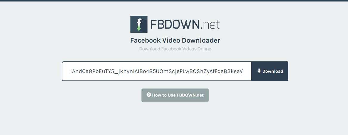 كيفية تحميل مقاطع الفيديو من الفيسبوك
