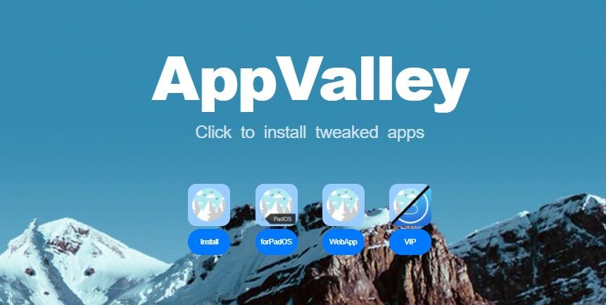 تحميل appvalley علي الايفون