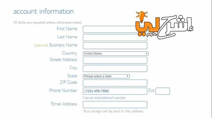 خطوات انشاء موقع الكتروني تجاري