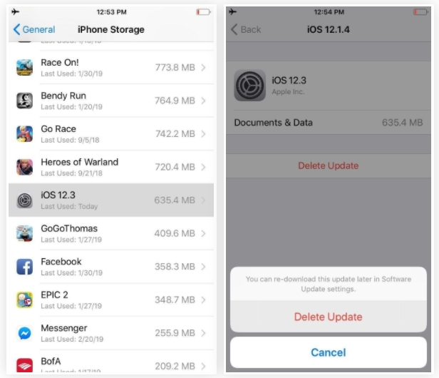 طريقه عمل جيلبريك iOS 12 و حتى iOS 13.5