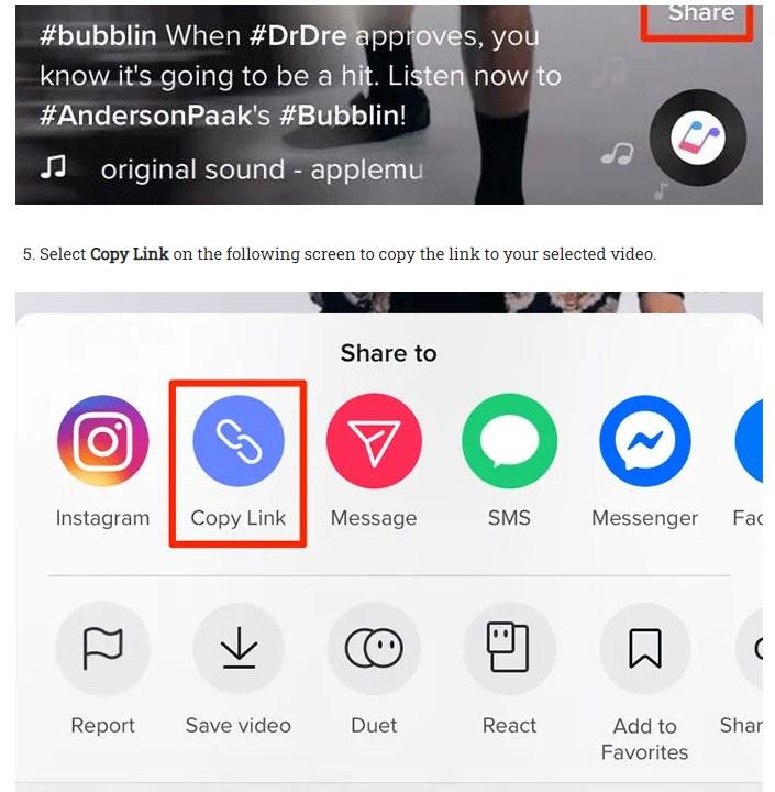 كيفية تحميل فيديو من تطبيق تيك توك Tik Tok