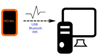 كيفية تحويل الهاتف الى مايك للكمبيوتر