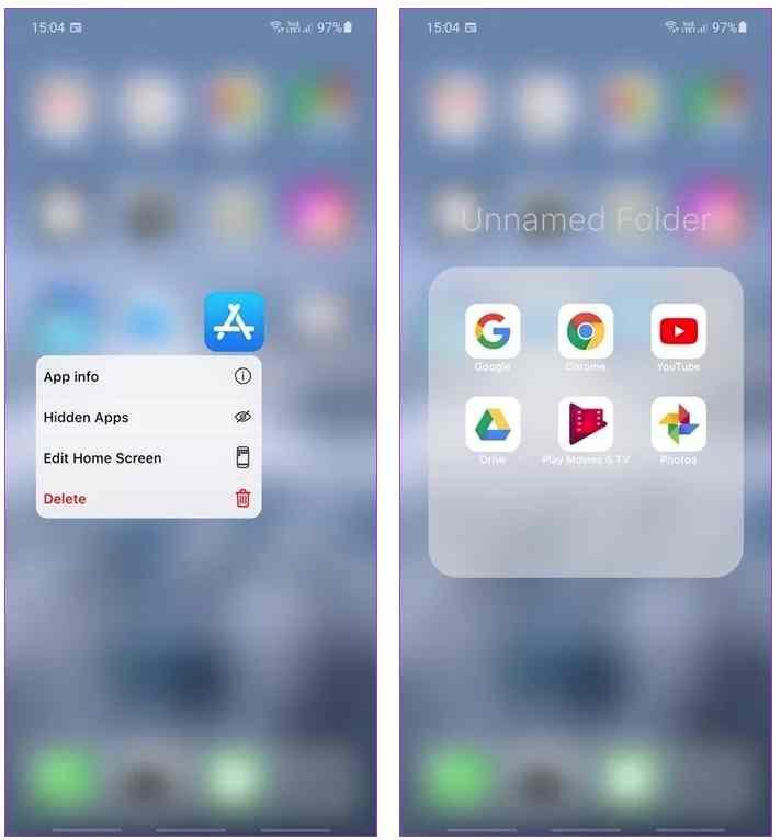 افضل تطبيقات لتحويل هاتف الاندرويد الى ايفون