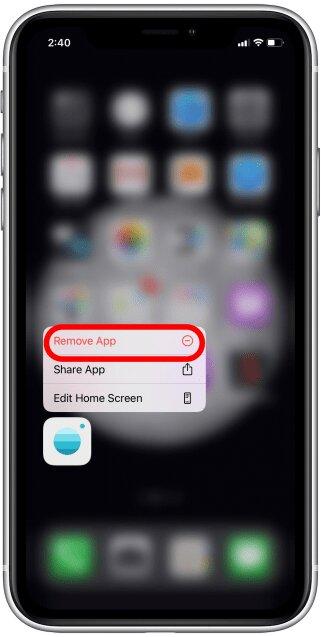 إخفاء التطبيقات في الايفون